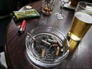 tabaco y OH
